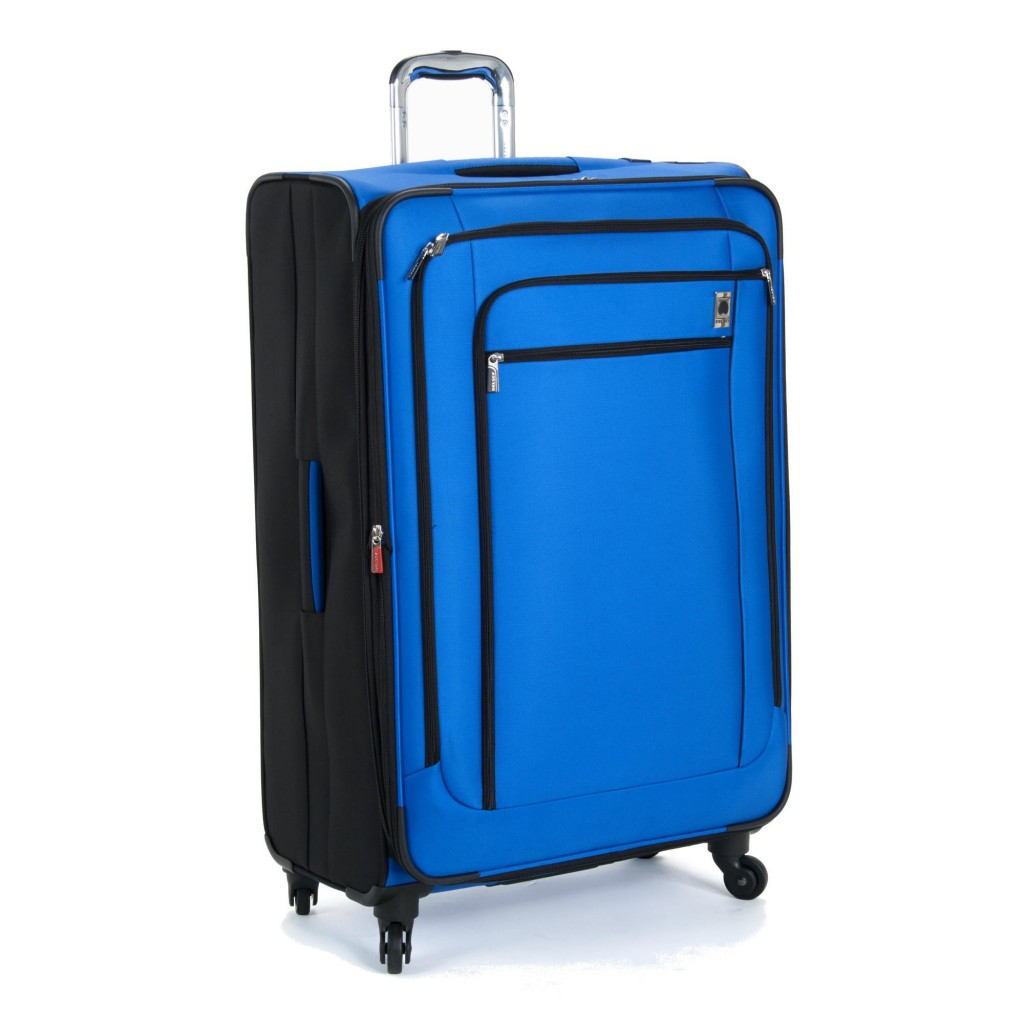Delsey Luggage Helium Sky 29 Inch Expandable Spinner Suiter Trolley