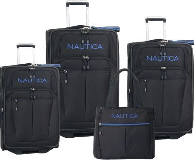 Nautica Helmsman Four Piece Luggage Set