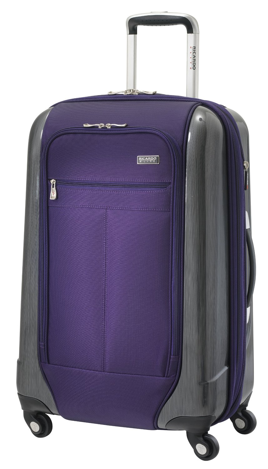 Ricardo Beverly Hills Luggage Crystal City 24 Inch Expandable Spinner Upright Suitcase