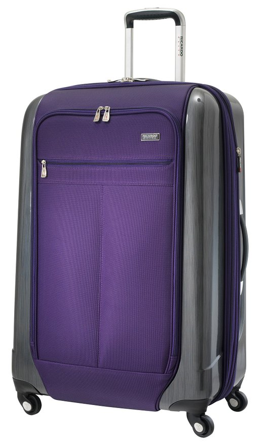Ricardo Beverly Hills Luggage Crystal City 28 Inch Expandable Spiinner Upright Suitcase