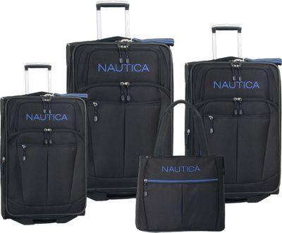 Nautica Helmsman Four Piece Luggage Set