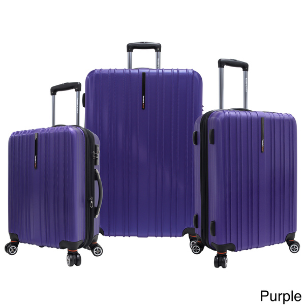 Traveler's Choice Tasmania Three-Piece Luggage Set